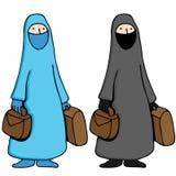 Muslim Woman Wearing Burka Royalty Free Stock Photos