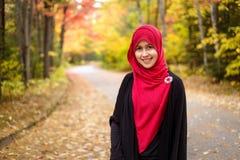 Muslim woman wearing hijab Royalty Free Stock Image