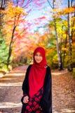 Muslim woman wearing hijab Stock Photo