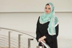 Muslim Woman Wearing Hijab Royalty Free Stock Images