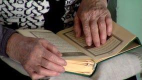 Muslim woman stock video footage