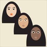 Muslim womans Royalty Free Stock Photos