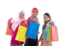 Muslim women Royalty Free Stock Photos