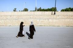Muslim women in Kairouan Royalty Free Stock Photography