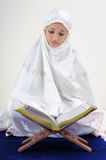 Muslim Women Reading Koran Stock Photography