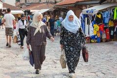 Muslim women Royalty Free Stock Photography