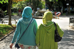 Muslim women Stock Images