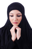 Muslim young woman wearing hijab Royalty Free Stock Photography