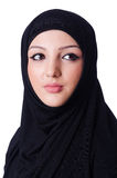 Muslim young woman wearing hijab Stock Photo