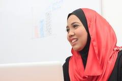 Muslimah企业概念 免版税库存图片
