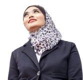 Muslimah画象 库存照片