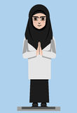 MUSLIMAH Imagem de Stock