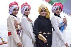 Muslimah bonito Fotos de Stock Royalty Free