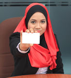 Muslimah business concept Stock Image