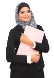 Muslimah business concept Royalty Free Stock Photography