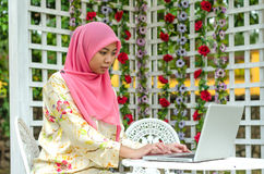 Muslimah Concept Royalty Free Stock Photo