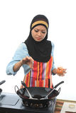 Muslimah concept Stock Image