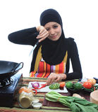 Muslimah concept Royalty Free Stock Photos