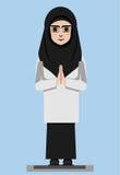 MUSLIMAH Stock Image