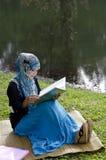 Muslimah joven hermoso Imagenes de archivo