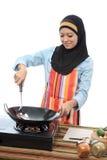 Muslimah Konzept Stockfoto