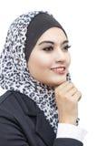 Muslimah stående Royaltyfri Bild