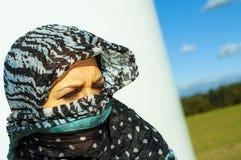 Muslimflicka som ha på sig higab Royaltyfria Foton