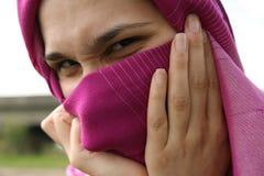 Muslimkvinna Arkivfoto