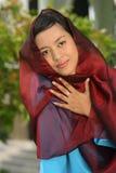 muslimkvinnabarn fotografering för bildbyråer