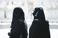 muslimkvinnor Arkivbild