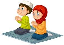 muslims vektor illustrationer