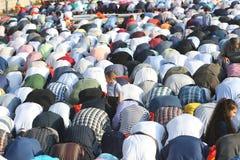 Muslims celebrating Eid al-Fitr Royalty Free Stock Images