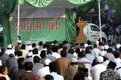 Muslims pray Royalty Free Stock Photo