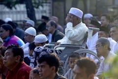 Muslims pray Royalty Free Stock Photos