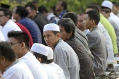 Muslims pray Stock Photography
