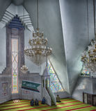 Muslims pray in the mosque. Lala Tulpan Stock Photo