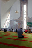 Muslims pray in the mosque Royalty Free Stock Images
