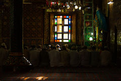 Muslims Praying Shah E Hamdan Mosque Srinagar H Royalty Free Stock Photo