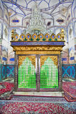 Muslims tomb inside Bohg-e Harun Vilayet Shrine Stock Image