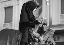 Muslims worldwide marks Ashura Istanbul Shiite community. Stock Images