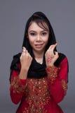 Muslimsk flicka Royaltyfri Fotografi