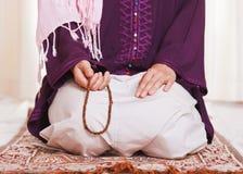 Muslimsk flicka Arkivbilder