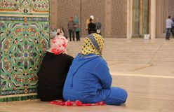 Muslimsk kvinna Arkivbild