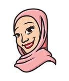 Muslimsk kvinna Fotografering för Bildbyråer