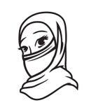 Muslimsk kvinna Royaltyfria Bilder