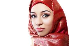 Muslimsk kvinna Arkivbilder