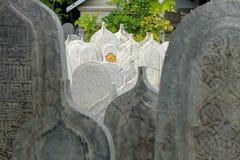 Muslimsk kyrkogård arkivbilder