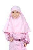 Muslimsk liten flicka Royaltyfri Fotografi
