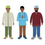 Muslimsk man Arkivbilder
