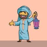 Muslimsk man Arkivfoto